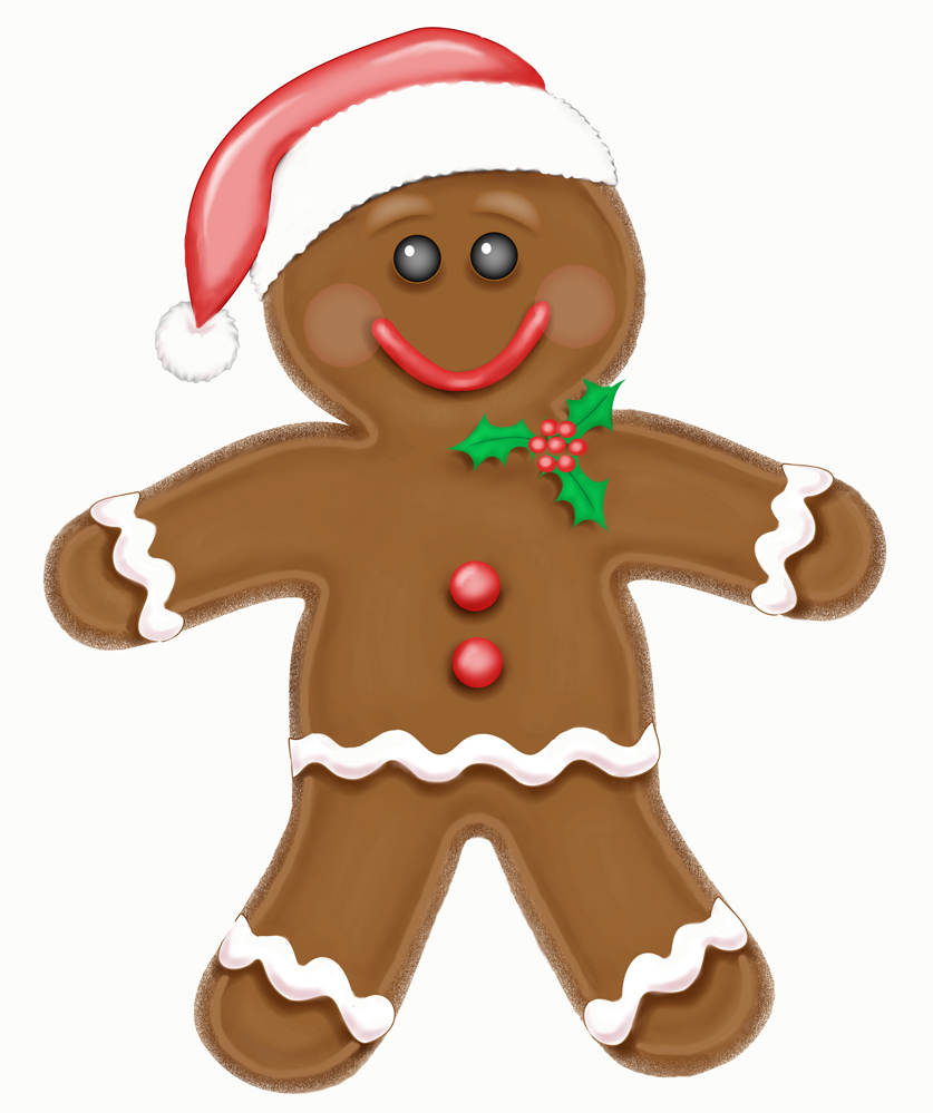 Gingerbread clipart christmas biscuit. Cookie panda free images