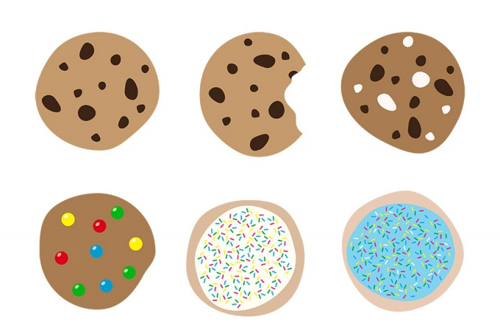 Cookies clipart.  chocolate chip cookie