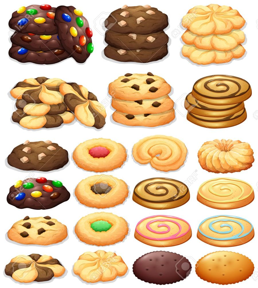 Download different kind of. Cookies clipart baked goods
