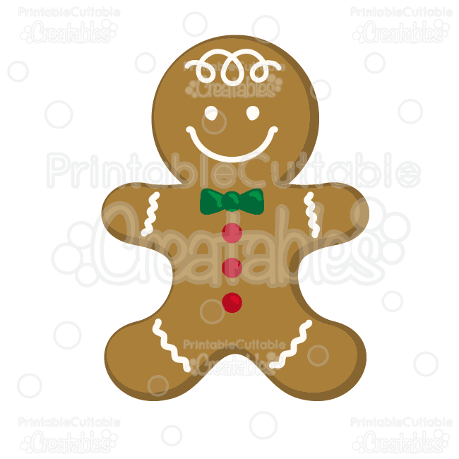 Gingerbread man cookie free. Cookies clipart file