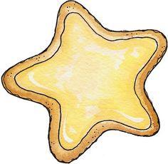 Cookies clipart plain cookie.