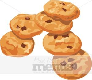 Dessert images. Cookies clipart
