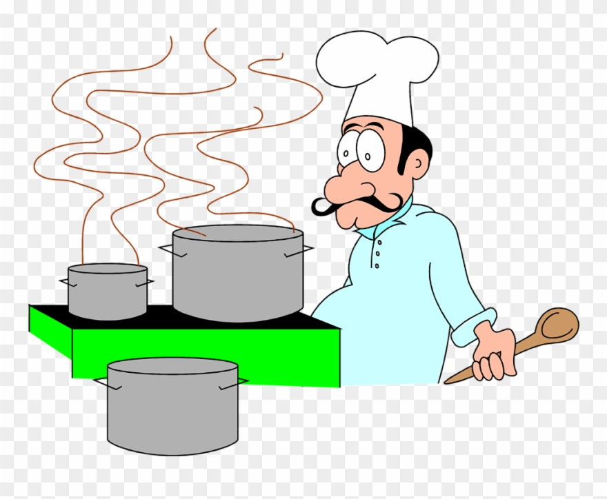 Chef cartoon gif png. Cooking clipart animated