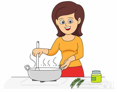Cooking clipart cartoon. Imagespace man gmispace com