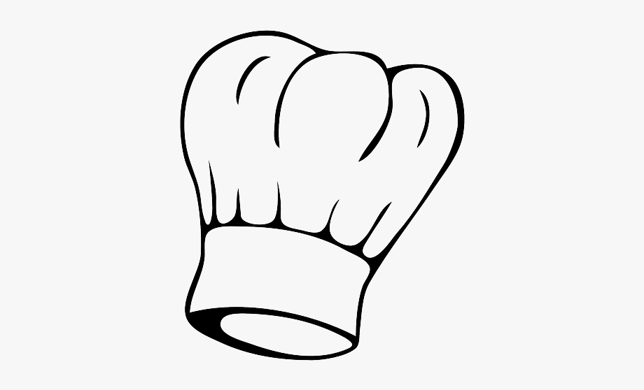 Hat clipart kitchen. Chef toque cook isolated
