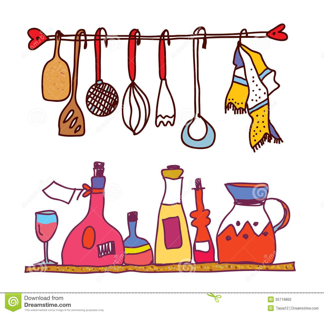 Kitchen tools clip art. Cooking clipart cookery tool