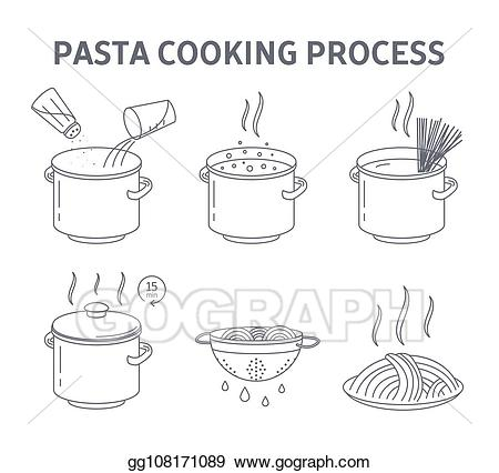 Pasta clipart pasta lunch. Vector cooking tasty for