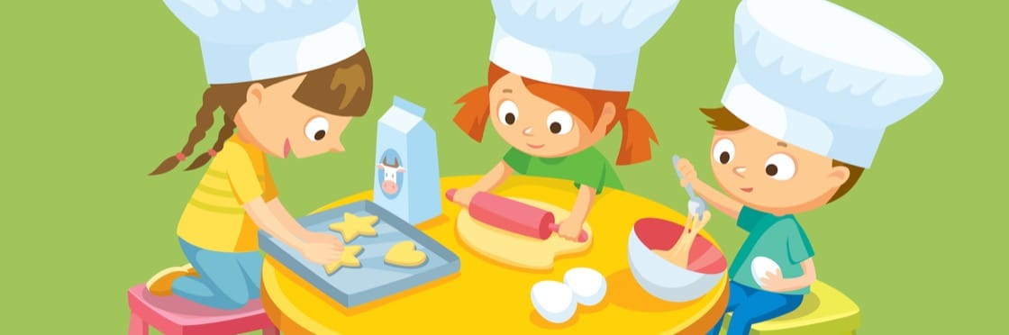 Kitchen fun five and. Cooking clipart cooking lesson