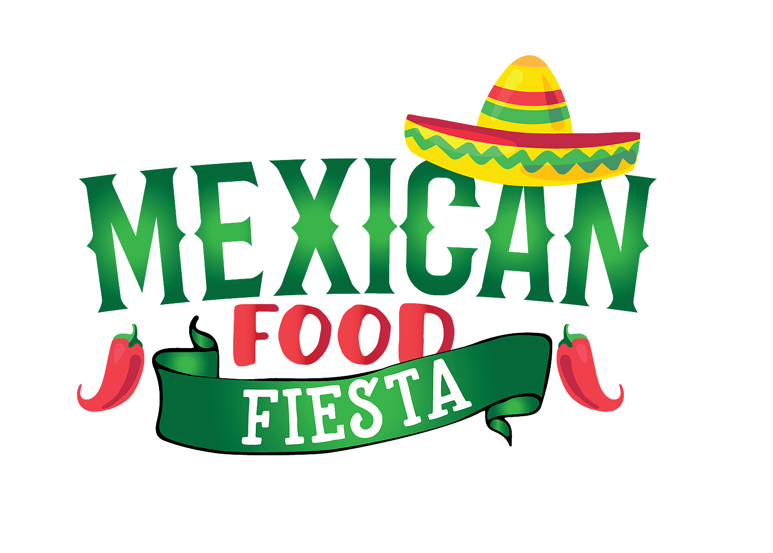 Peppers clipart fiesta.  mexican food