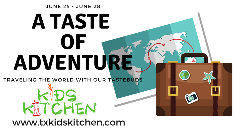 A taste of adventure. Cooking clipart food tasting