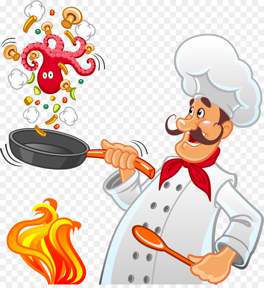 cooking clipart fry cook