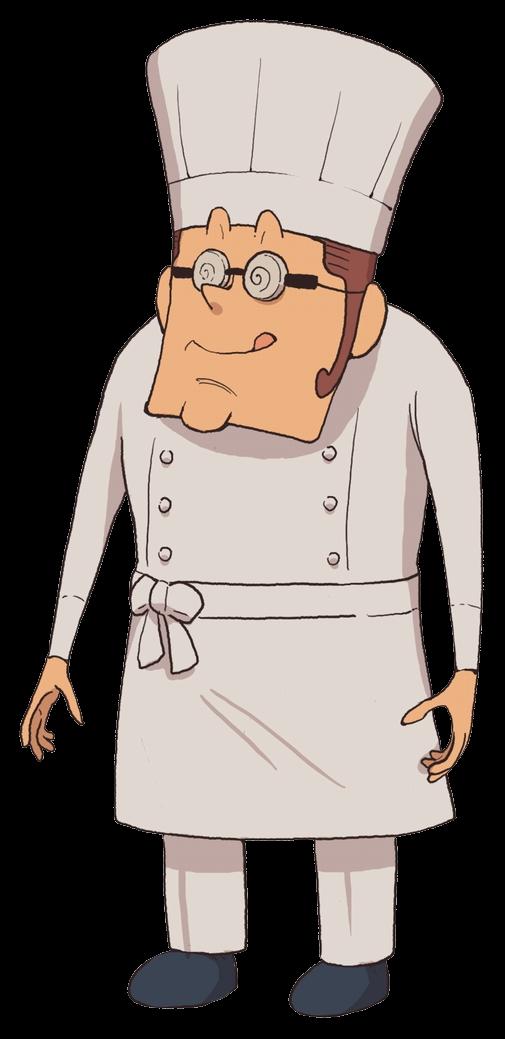 Aleks lipski professor layton. Cooking clipart hotel waiter