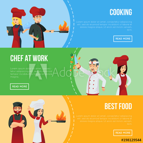 Cooking clipart kitchen staff. Professional recruitment agency flyers