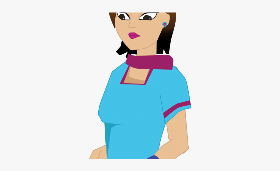 Cooking chef woman png. Lady clipart cartoon
