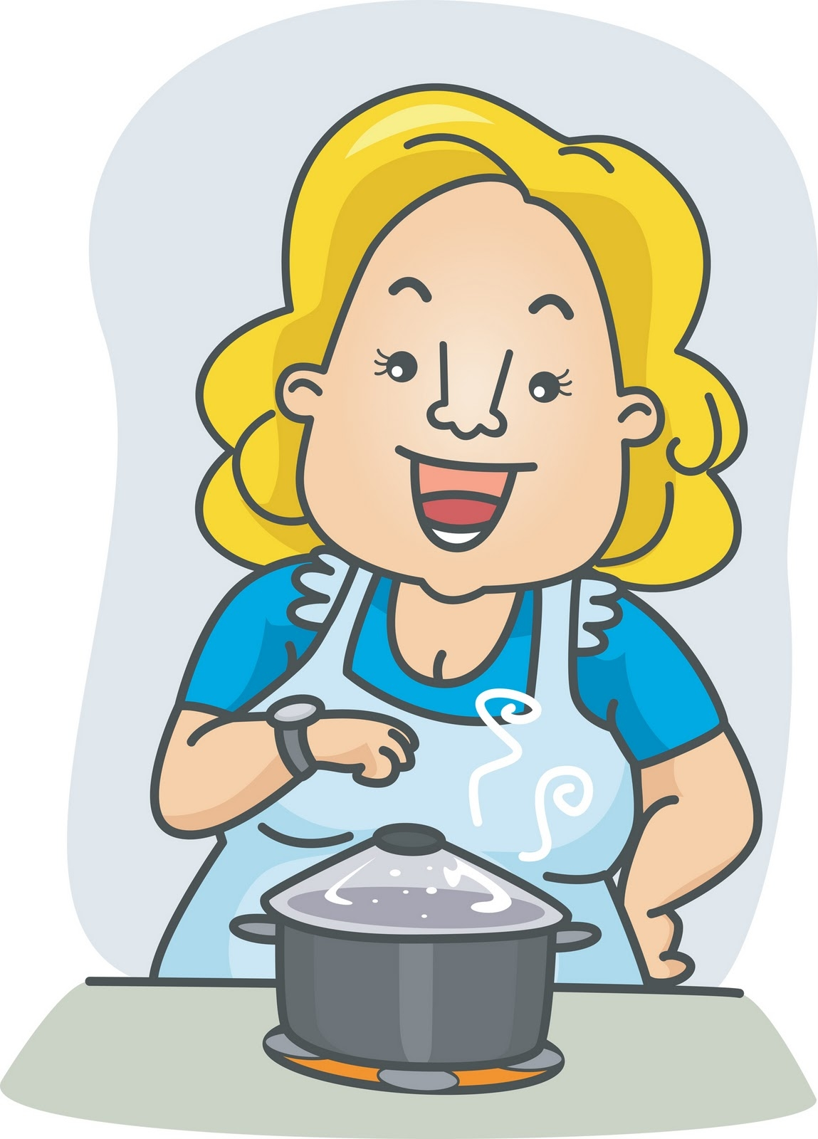Mother clip art library. Cooking clipart motherr