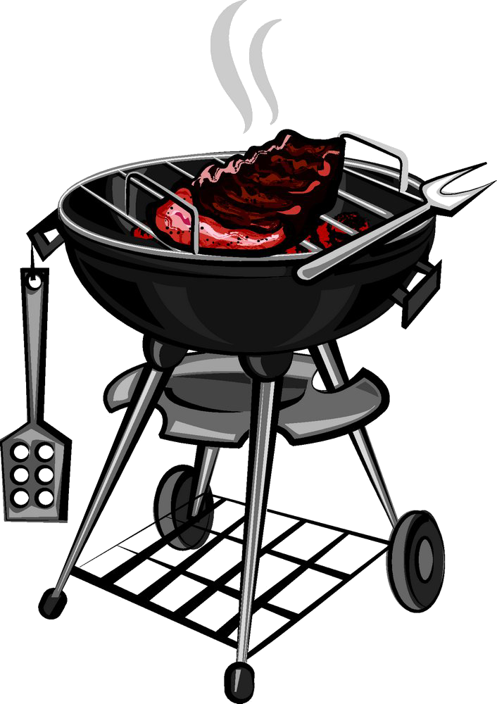 Grilling clip art on. Ham clipart barbecue meat