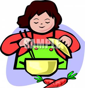 Free Girl Cooking Cliparts, Download Free Clip Art, Free Clip Art on Clipart  Library