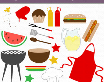 Cookout clipart. Bbq