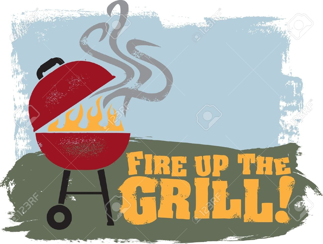 Awesome design digital collection. Cookout clipart