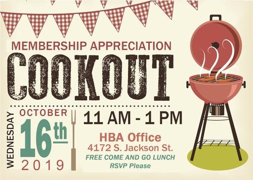 Membership oct . Cookout clipart appreciation