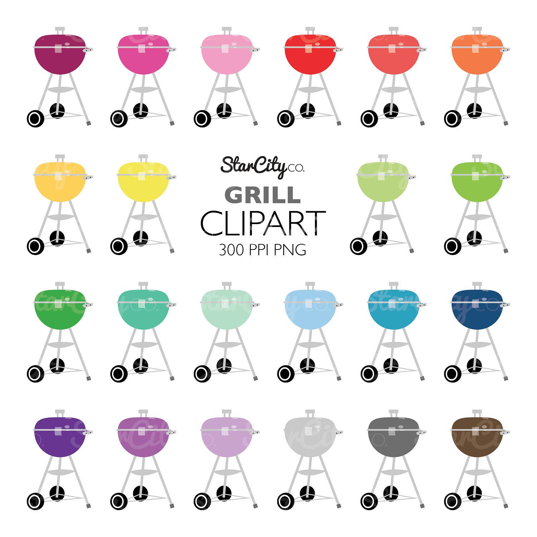 Grill clip art graphics. Cookout clipart artwork