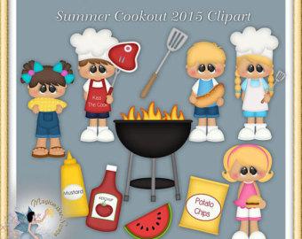 Clip art etsy . Cookout clipart artwork