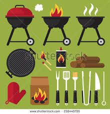 Image result for utensils. Grilling clipart braai
