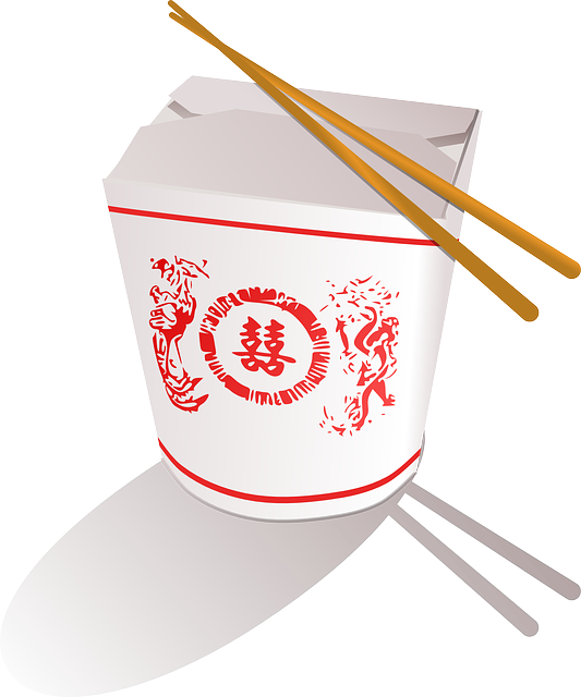 Chinese food box with. Japanese clipart japanese steakhouse