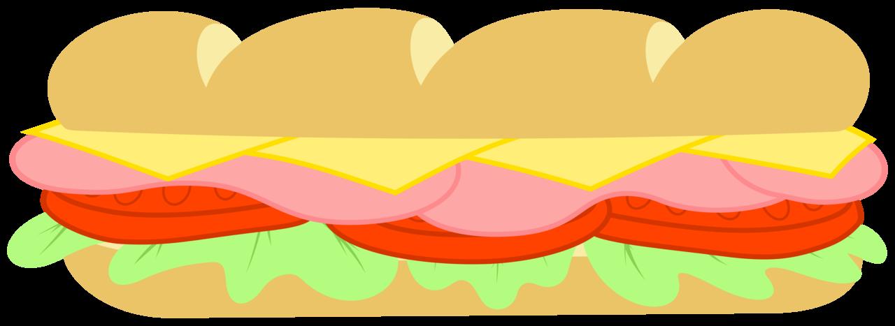 Mlp resource subway sandwich. Cookout clipart footlong