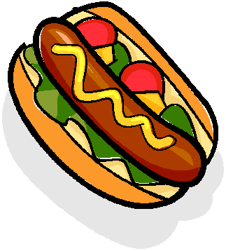 Senior hot dog the. Hotdog clipart food cookout