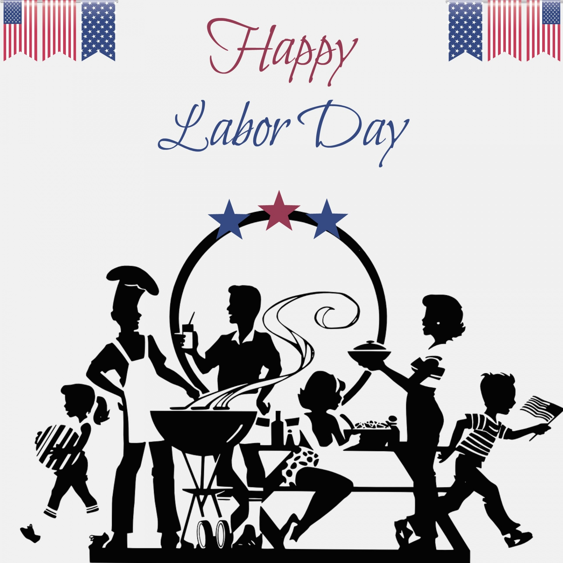 Essentials tds home . Cookout clipart labor day