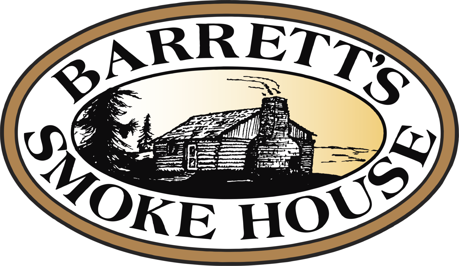 Barretts smokehouse . Ham clipart thick sliced