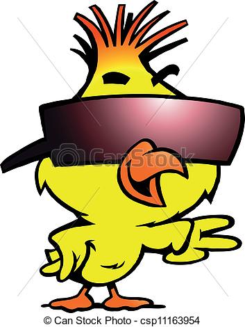 Chick . Cool clipart