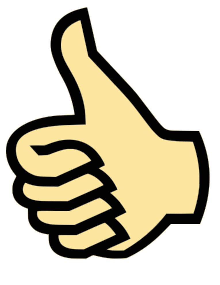 Cliparts thumbs up image. Cool clipart