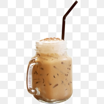 Drink clipart iced drink. Coffee png vector psd