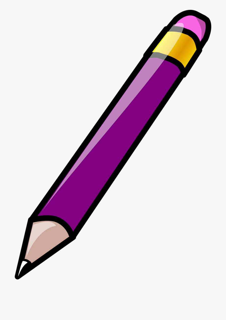 Crayon clipart purple pen. Expo marker png free