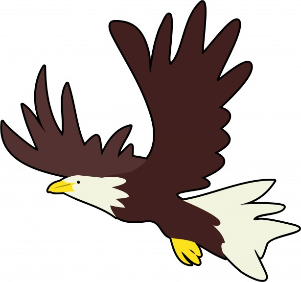 Bald free stock photo. Eagle clipart simple