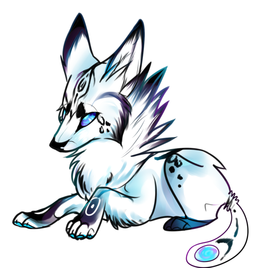 Galaxy clipart drawing. Easy wolf at getdrawings