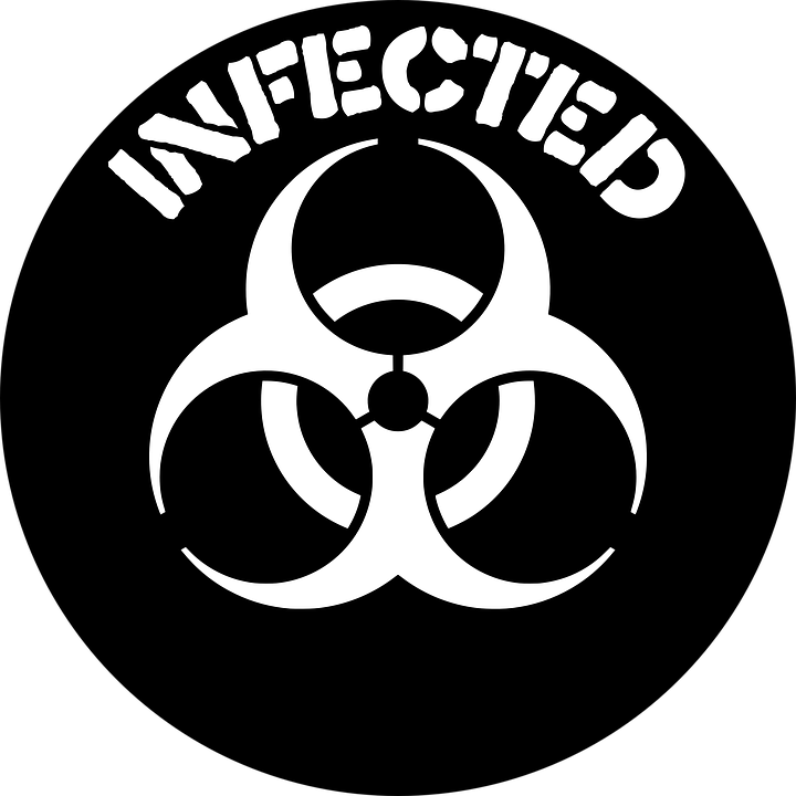 Infectious disease laboratory sign. Future clipart hindrance