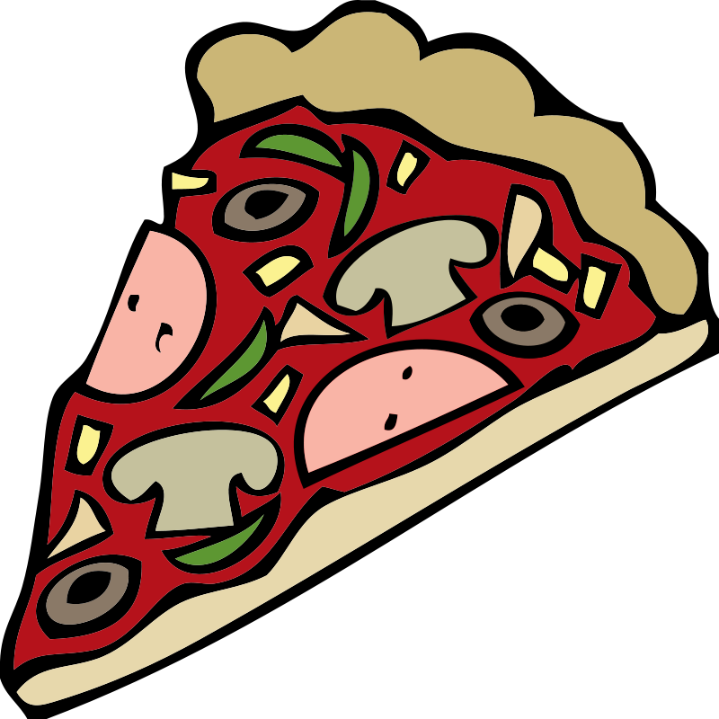 Pizza clipart food. Free clip art cool
