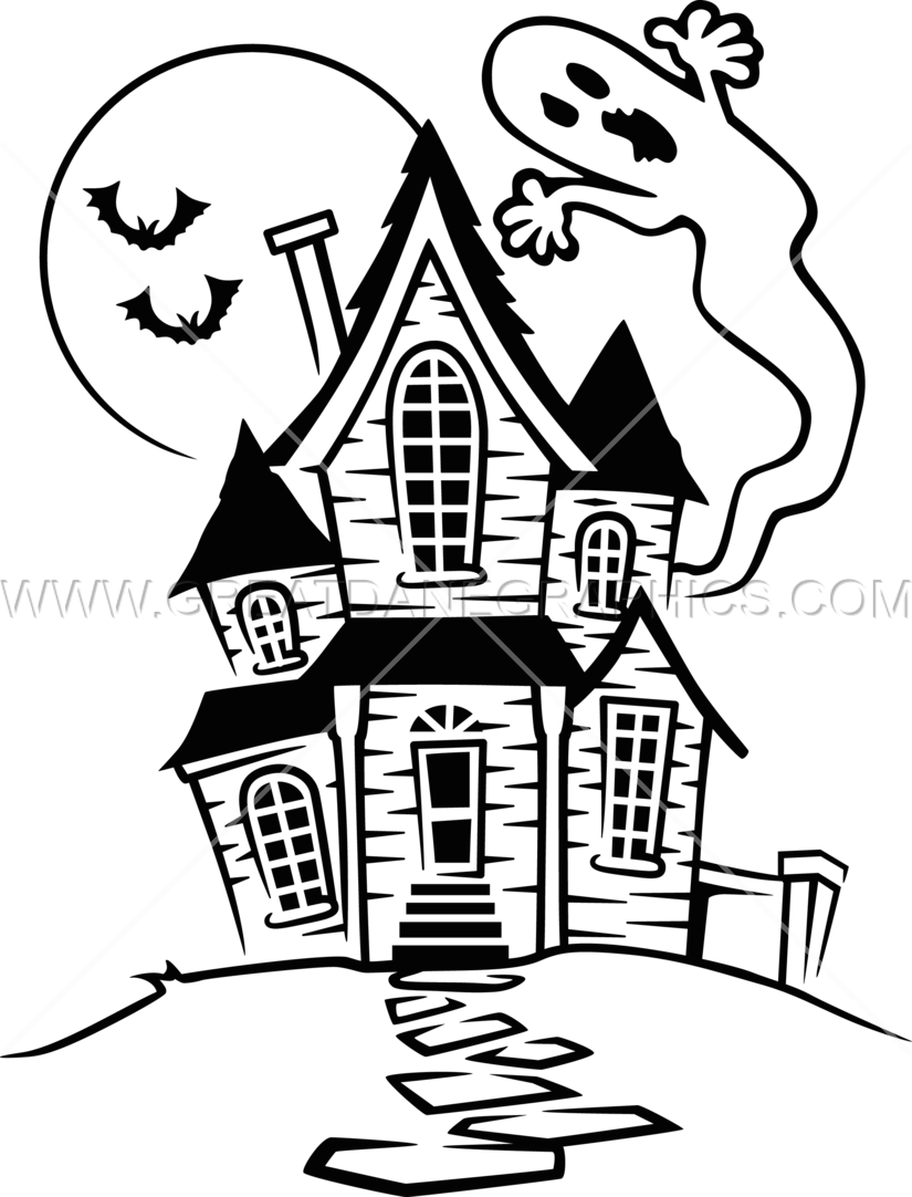 Haunted drawing at getdrawings. Creepy house png