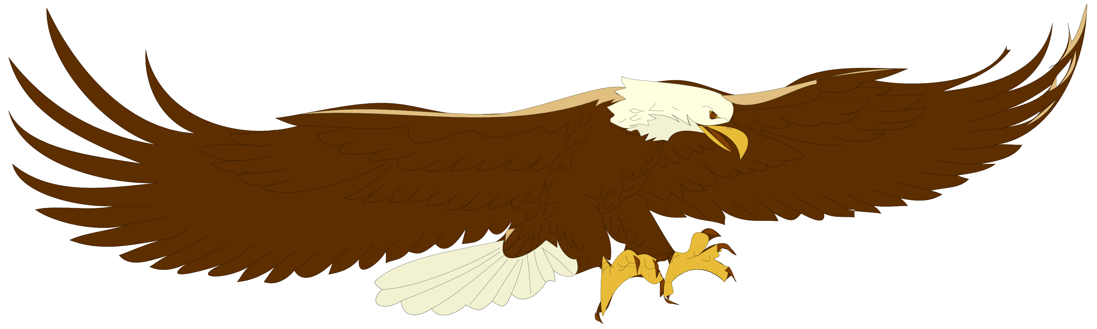 Eagle clipart simple. Cartoon hawk flying crazywidow