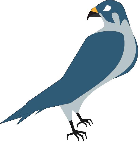 Falcon clipart large bird. Cartoon hawk