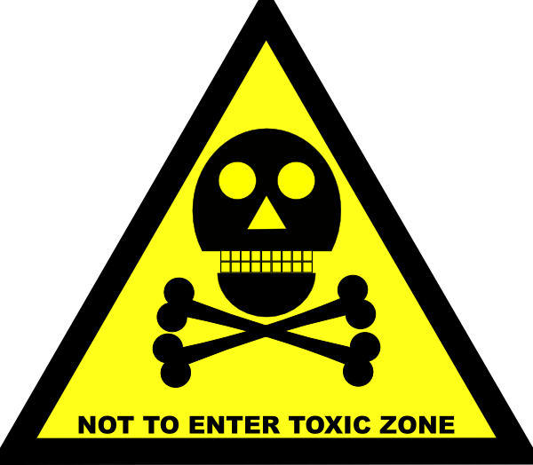 poison clipart yellow