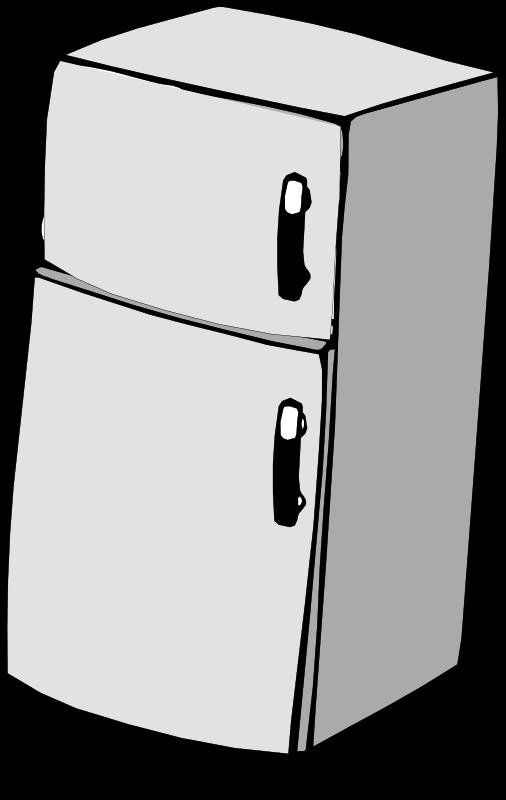 Refrigerator old refrigerator