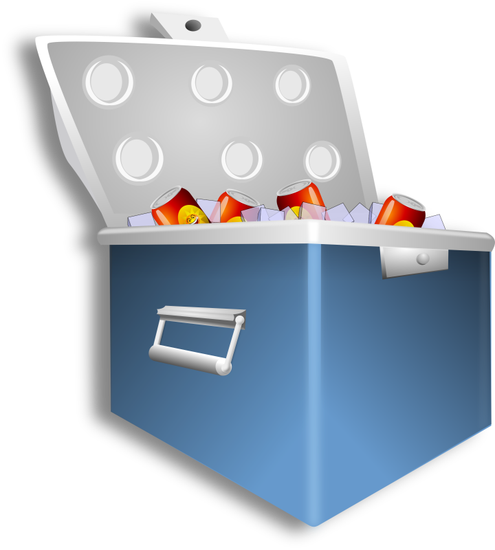 Cooler clip art ourclipart. Cool clipart ice chest