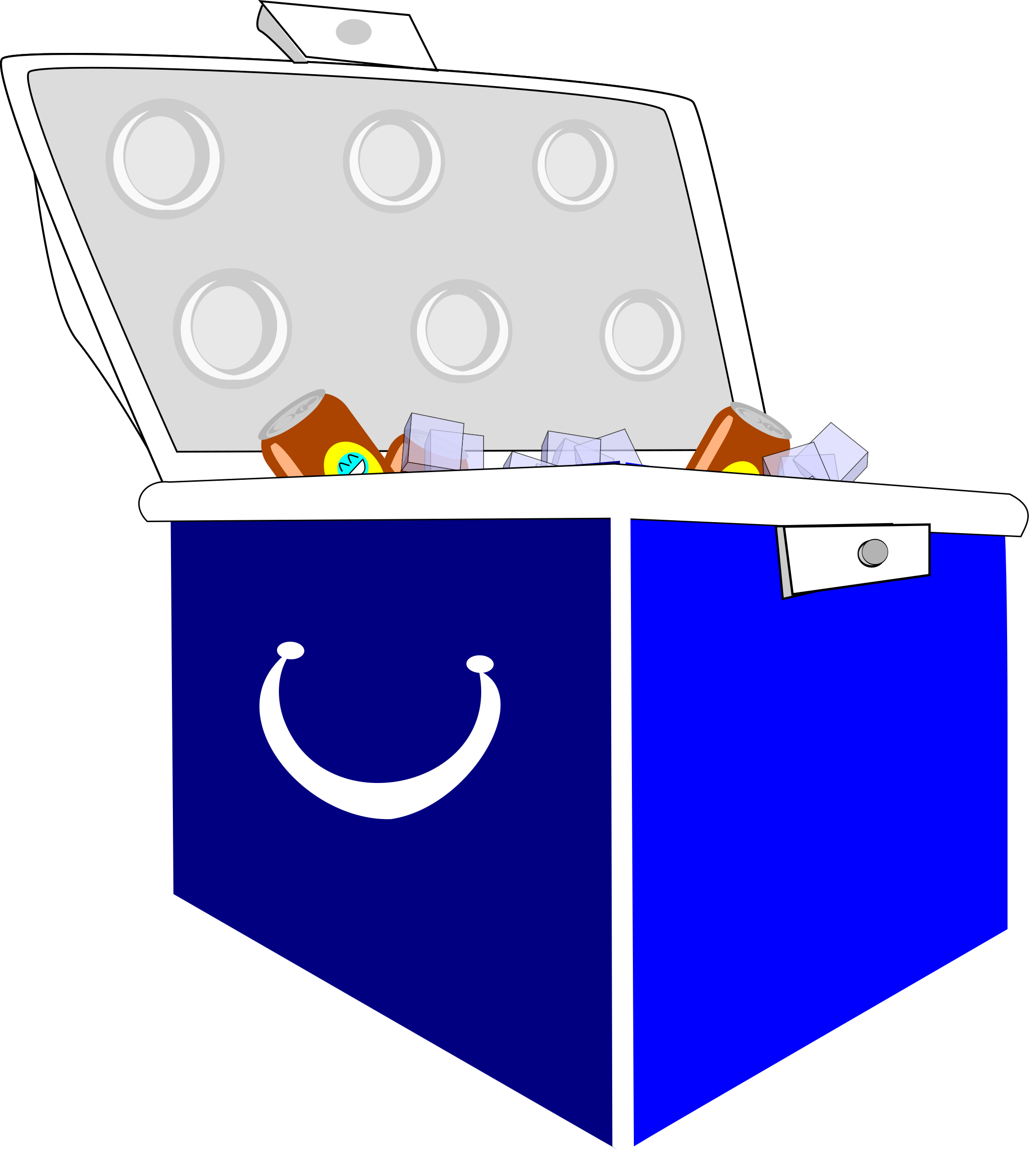 Cooler big image png. Cool clipart ice chest