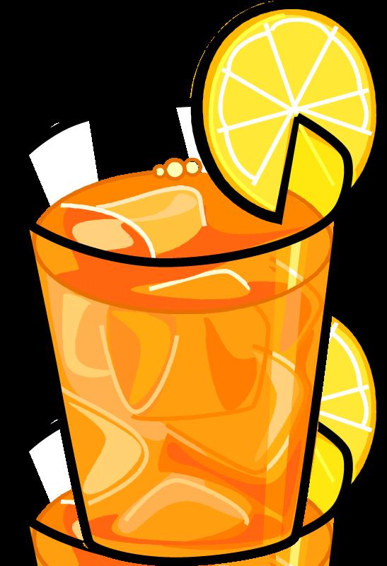 Juice clipart fizzy. Iced tea