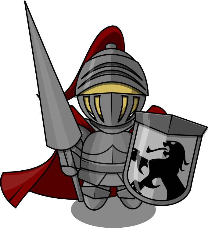 knights clipart face knight