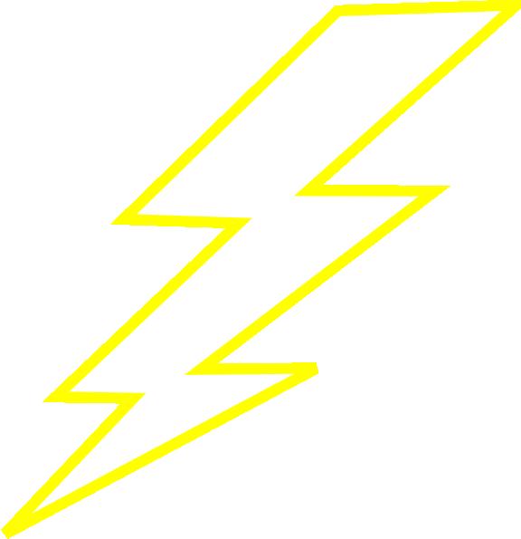 Clip art strik clipartcow. Cool clipart lightning bolt